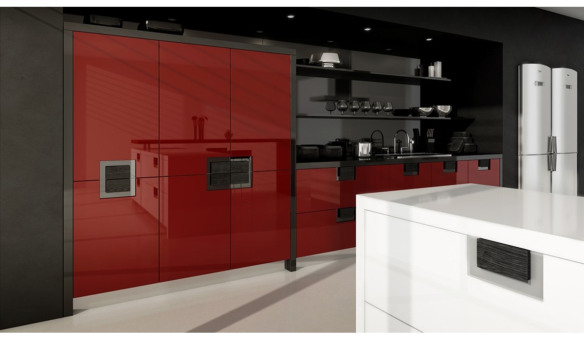Matt or Gloss Lacquer with Veneer Handle